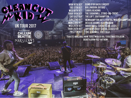 OCTOBER TOUR WITH CLEAN CUT KID