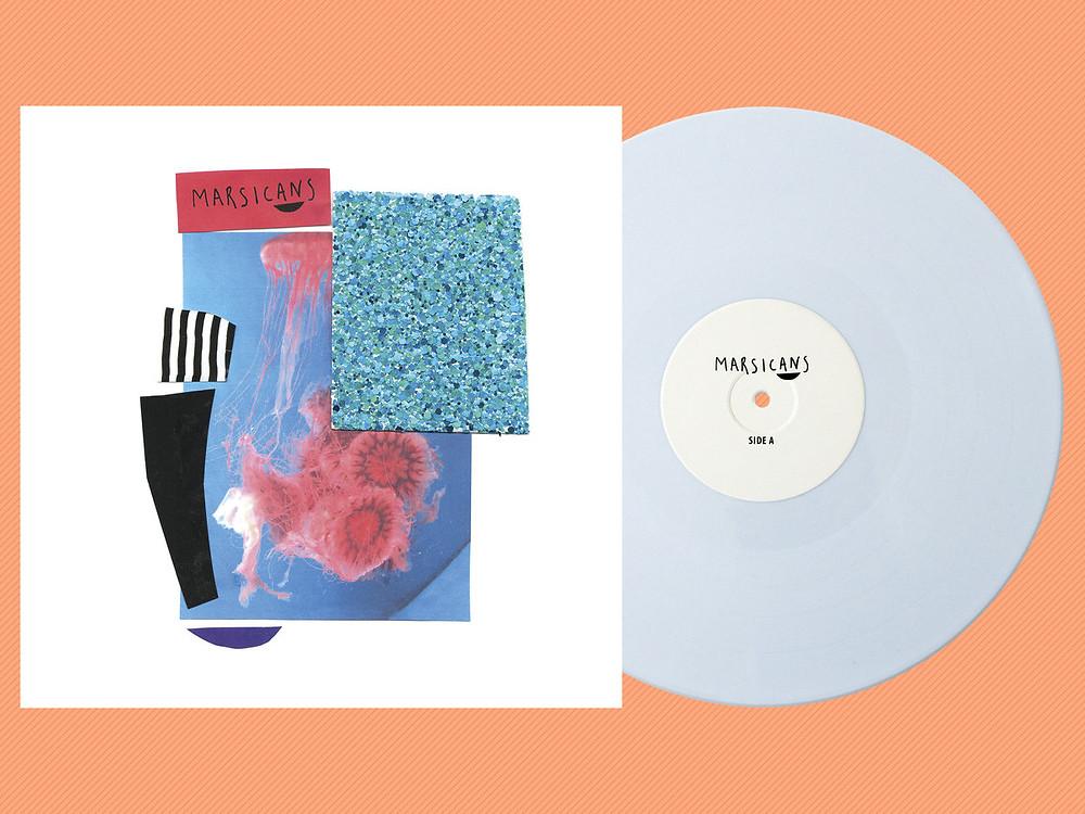 "Absence EP on 12"" ice-white vinyl"