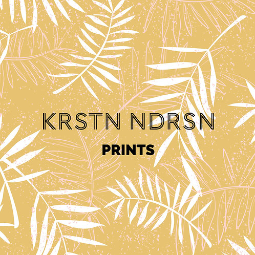 Custom Simple Print (2-3 colors)
