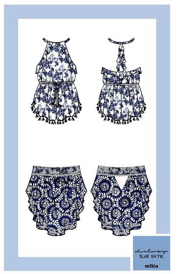 Milea-Project-Swim-2016-Blue-Batik-Krist