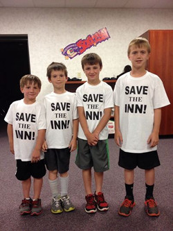 Grammie's Boys love the INN!