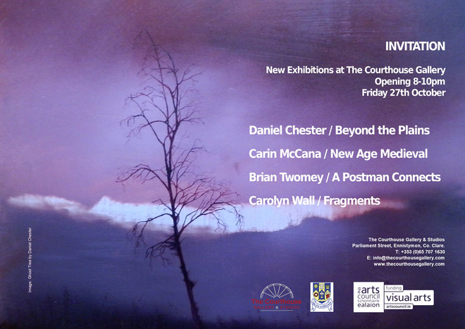 """Beyond the Plains"" opening this Friday evening @courthouse gallery,Ennistymon. All welcom"