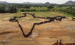 India Map Human Gathering