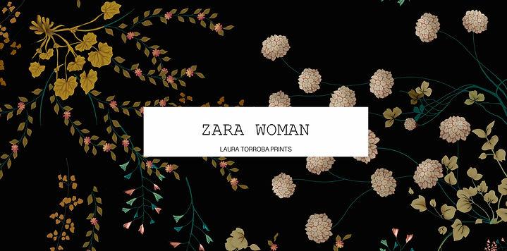 LAURA TORROBA PRINT ZARA WOMAN