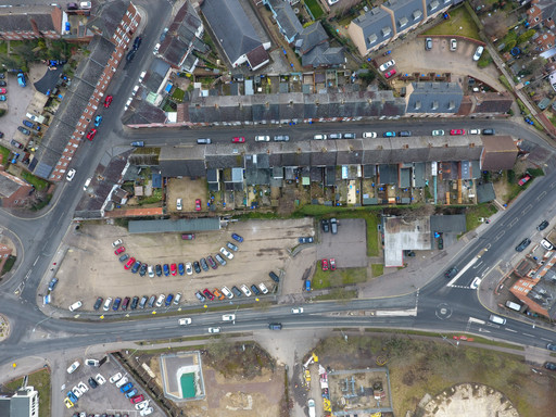Interesting aerial views of Tayfen Road site and Bury St Edmunds beyond by drone!