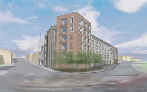 Tayfen Road scheme described as 'Exemplary' by planners