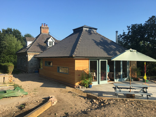 New extension to Stone House, Brockford