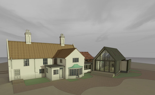 Starting to come together- Designs for alterations to a listed house in Cambridgeshire
