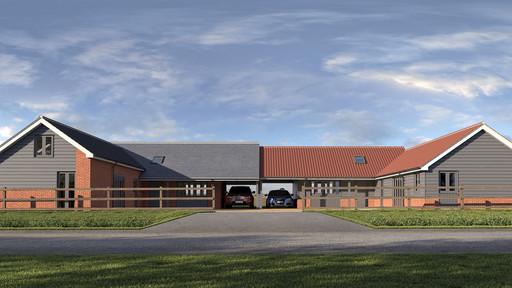 Rural bungalow scheme granted planning permission.