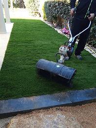 איך מתקינים דשא סינטטי 5 גרין דוג עיצוב