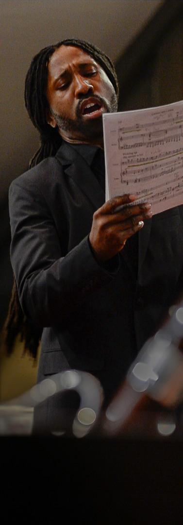 Singing New Work by Willam David Cooper