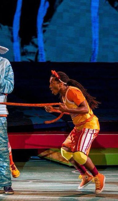 The Wickersham Brothers in Seussical at the MUNY