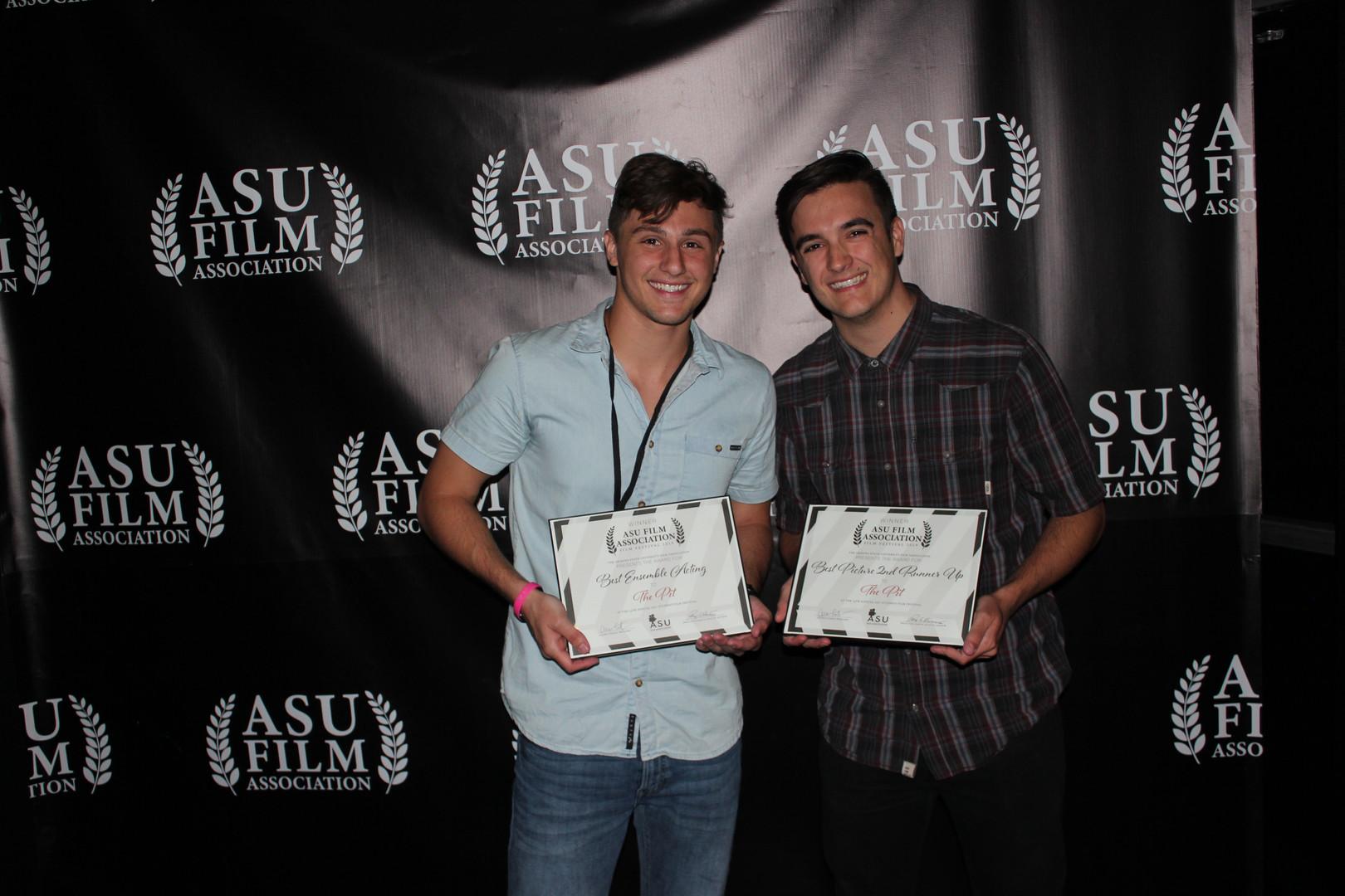 Brandon Sonju and Joey DeBlanco at the ASU Film Festival