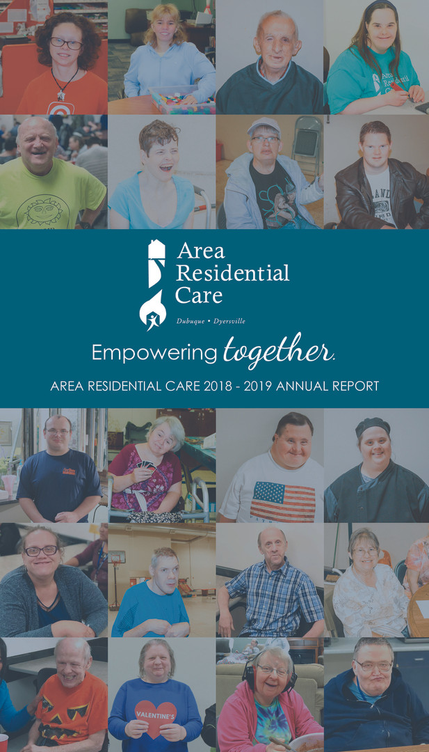 2018 - 2019 Area Residential Care Annual Report