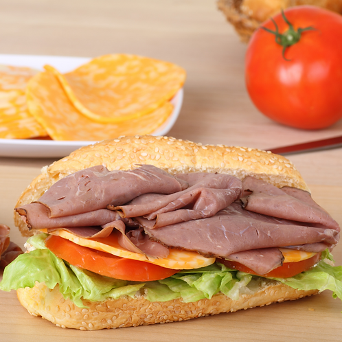 Roast Beef and Colby Jack Sub