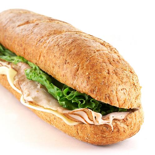 Smoked Turkey and Cheddar Sub
