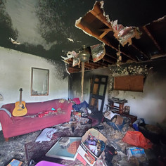 Living Room Fire Before