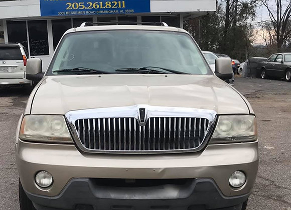 2005 Lincoln Aviator · Luxury Sport Utility 4D
