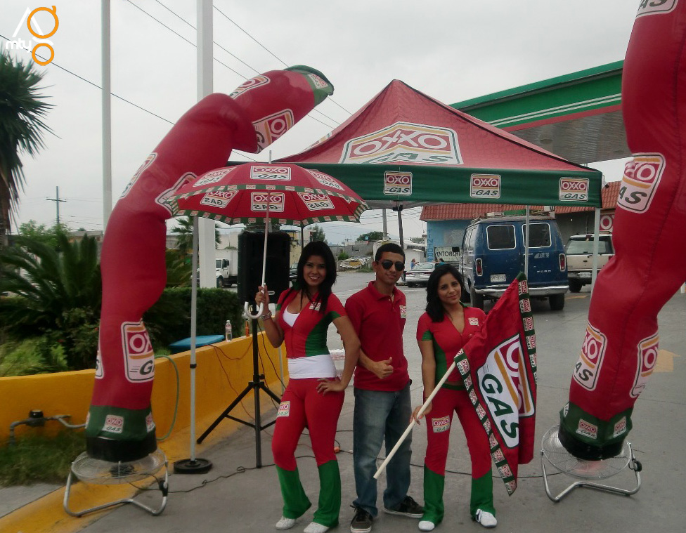 Evento Oxxo gas