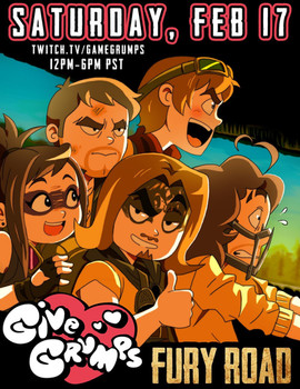Game Grumps Charity Poster