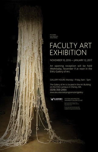Faculty Art Show Poster