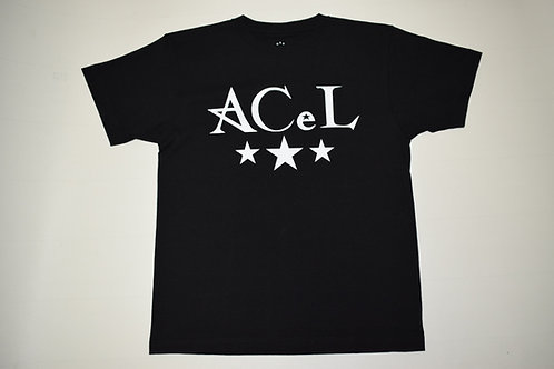 ACeL  TEE(ブラック/BLACK)