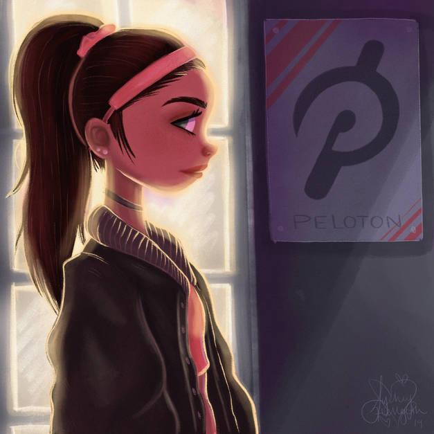 Peloton Girl