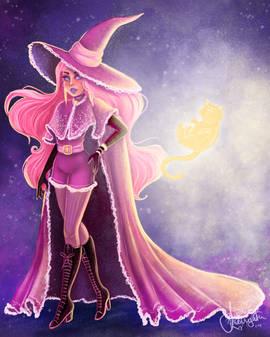Bubblegum Witch