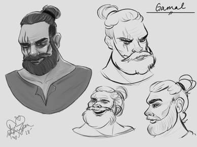 Gamal Facial Expressions