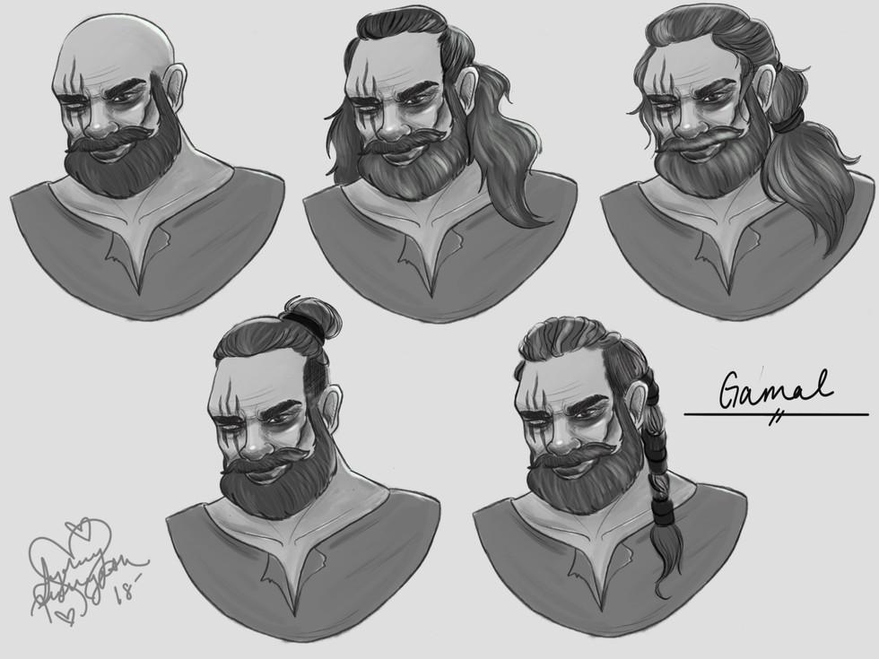 Gamal Hair