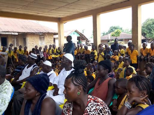 Preparations for Opening New Secondary School in Baiwalla, Sierra Leone