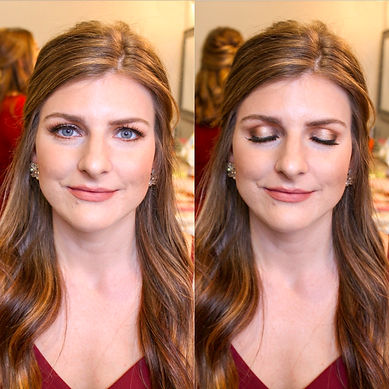 natural bridesmaids makeup north texas