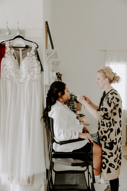 lindsay stone bridal makeup artist texas