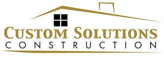 Custom Solutions Construction Logo