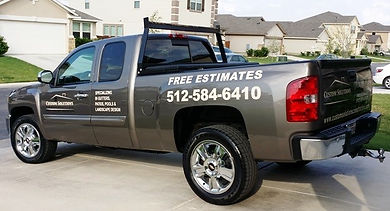 Custom Solutions Construction Fleet Truck