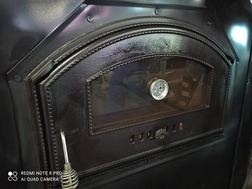 Двухкамерная печь на базе шамотных блоков Macgrafler