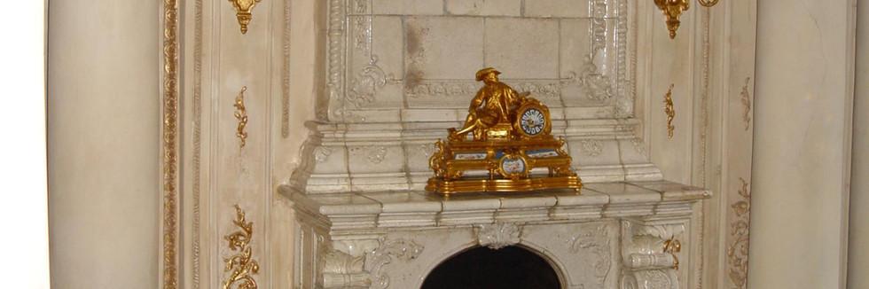 Камин в банкетном зале р-на Пушкин на Тверском бульваре