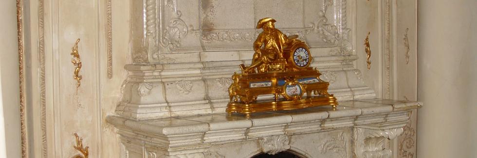 Камин в банкетном зале фото 6