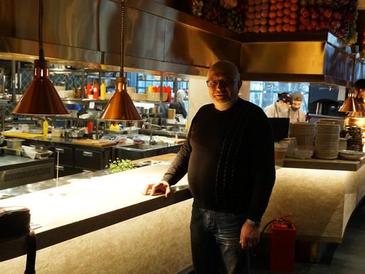 Печка и мангал в ресторане Чайхона №1.