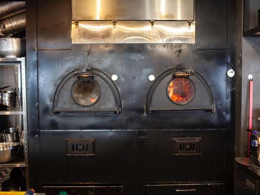 Печь двухкамерная, на базе шамотных блоков Macgrafler.