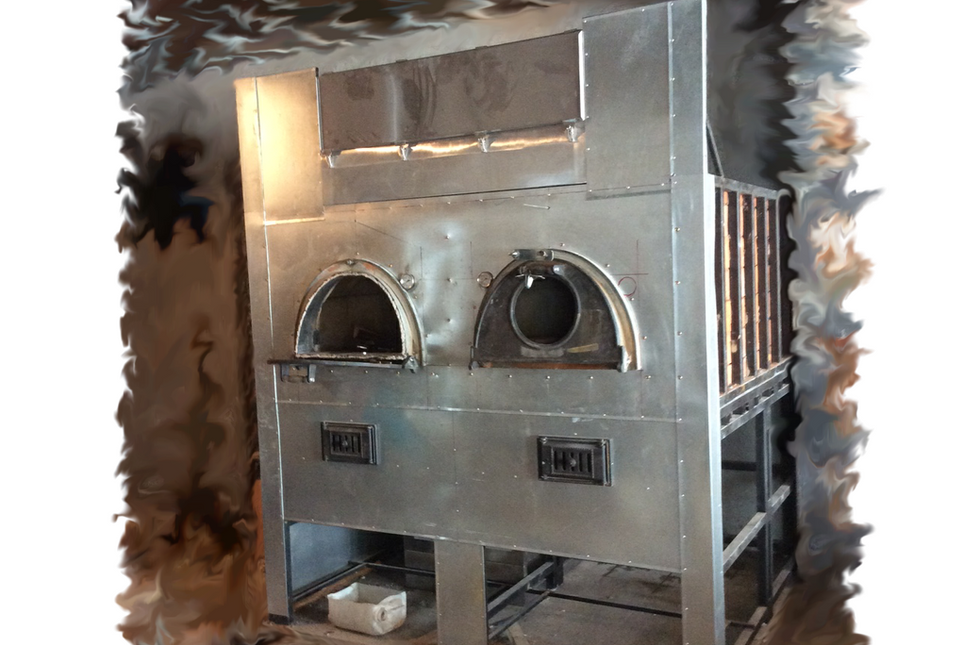 Печь двухкамерная
