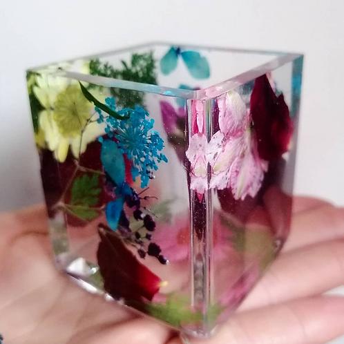Floral Candle Holder