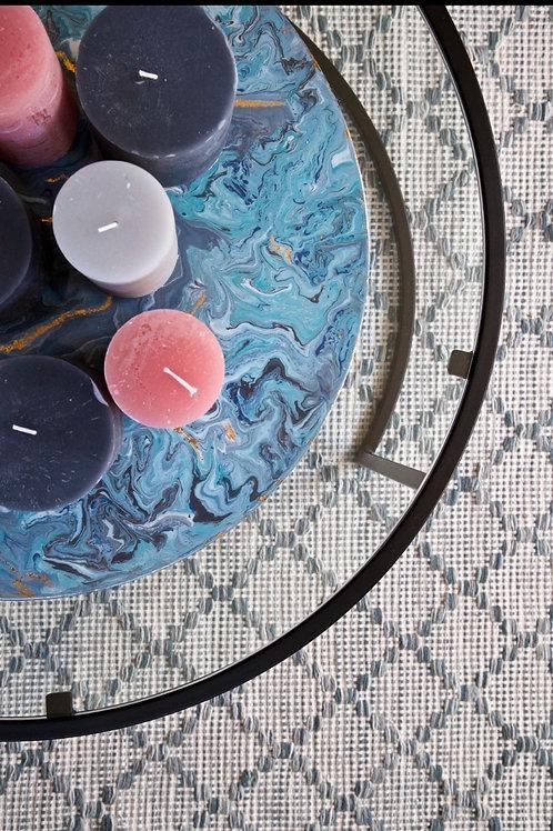 Custom made Circle resin painting