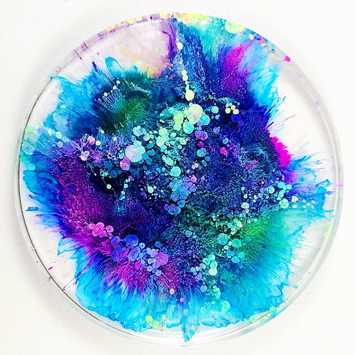 Resin Coasters set of two
