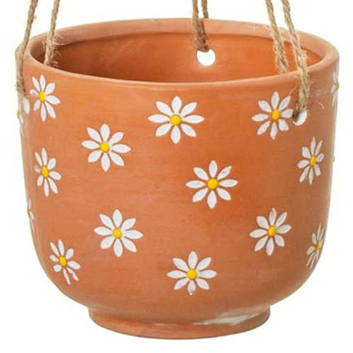 Daisy hanging pot