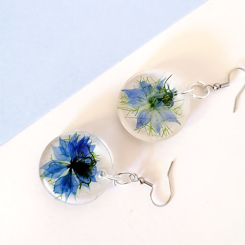 Love in a mist earrings