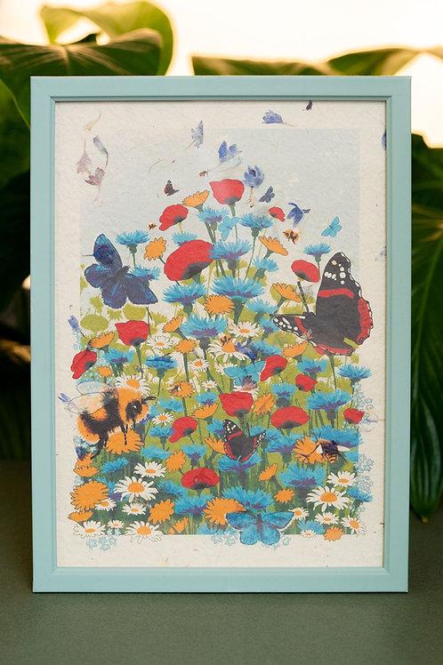 Pollinator Haven - Art Print