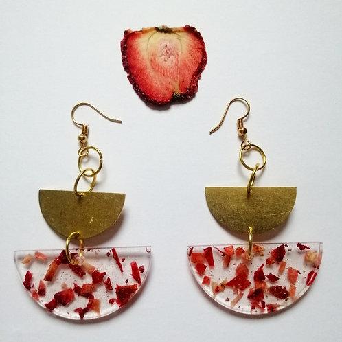 Strawberry confetti