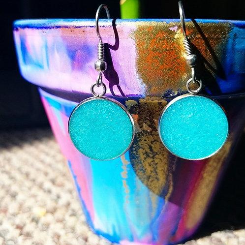 cerulean earrings
