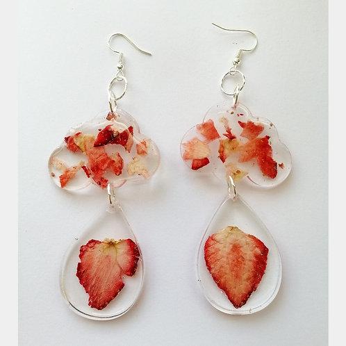 Strawberries and cream 🍧